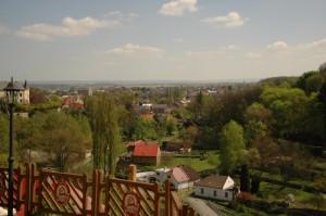 Вид на городок Кутна-Гора