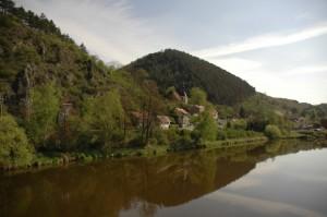 Около замка Карлштейн
