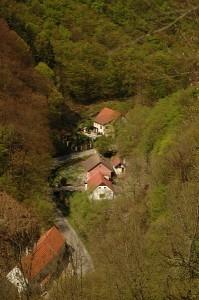 Вид с замка Карлштейн