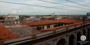 Крыши города, ну чем не Европа