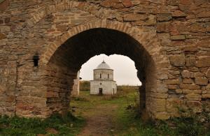 Вид на церквушку