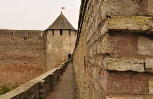 Проходы в крепостной стене