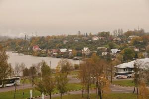 Вид на Ивангород